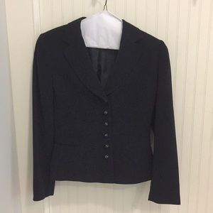 Navy Tahari Skirt Suit
